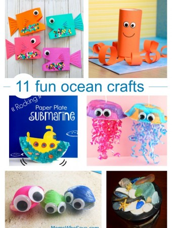 11 Fun Ocean Crafts for Kids