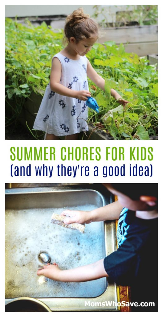 summer chores perfect for kids