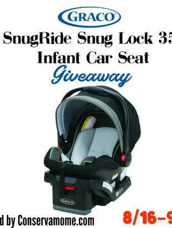 Graco® SnugRide® SnugLock™ Infant Car Seat Giveaway Plus Check Out Graco's Offer to Get a Free Extra Base