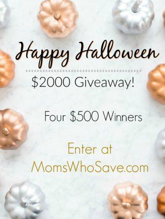 Happy Halloween $2,000 Cash Giveaway