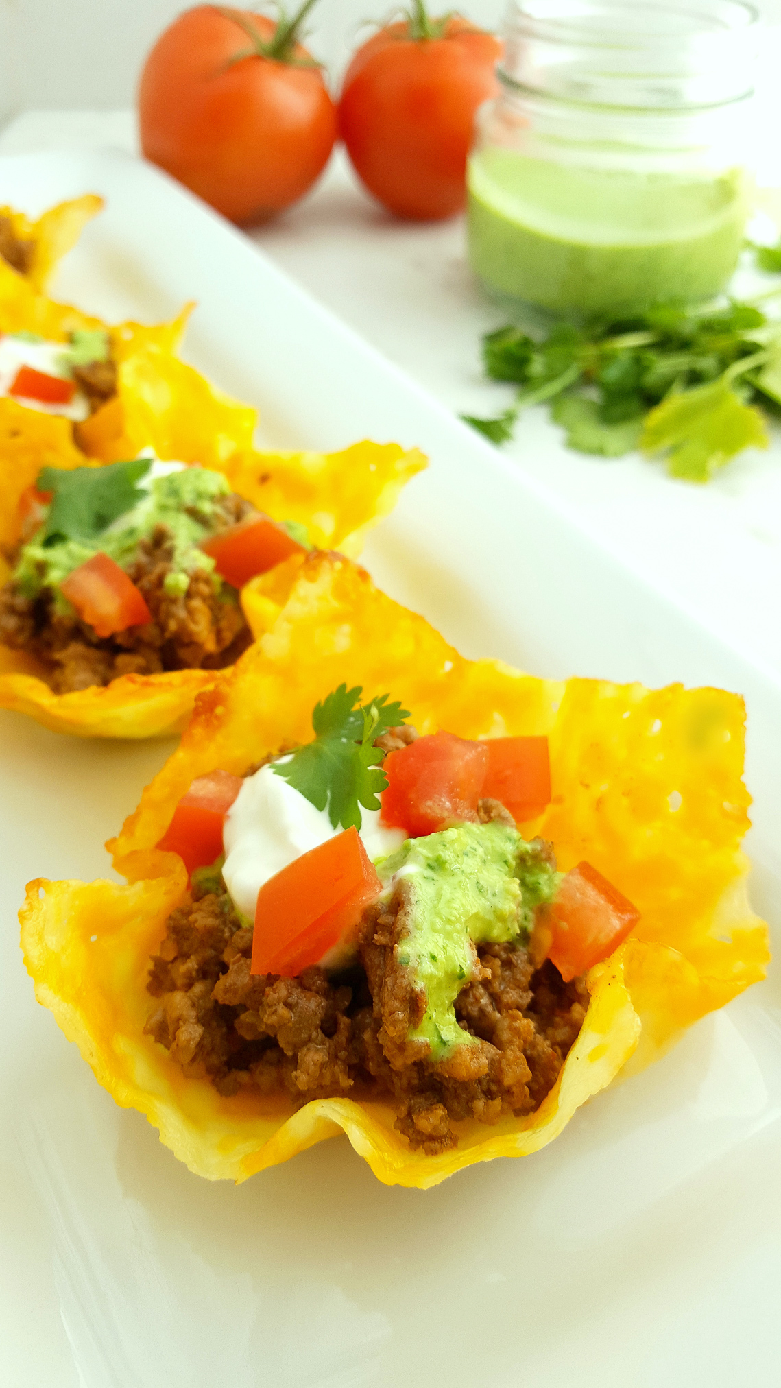 cheese taco cups