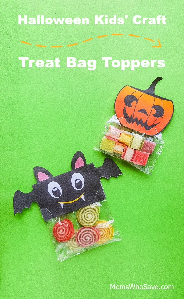 halloween treat bag craft