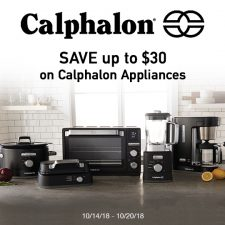 Save up to $30 on High-Quality Calphalon Appliances at Target