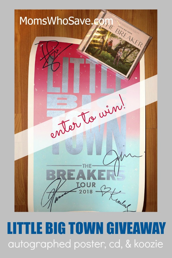 little big town signed poster giveaway