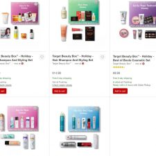 Five New Target Beauty Boxes Available While They Last!