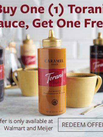 torani sauce deal