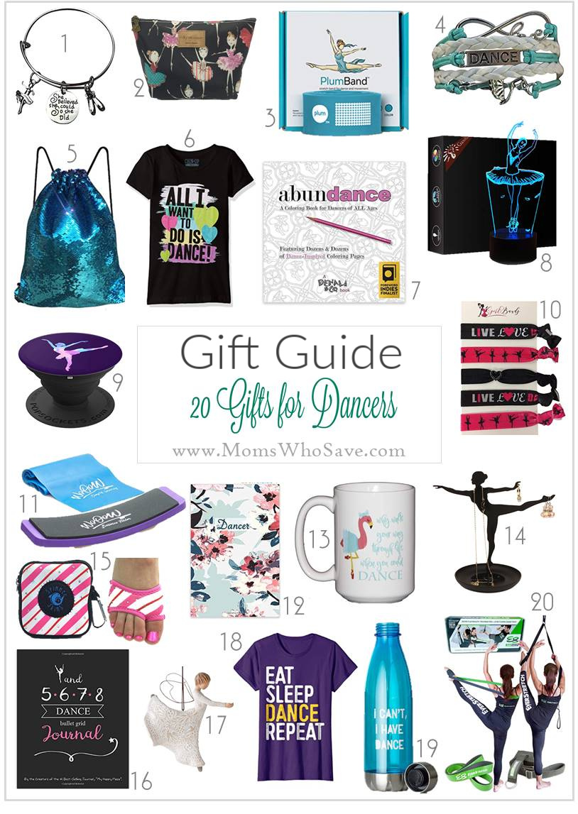 dance gift ideas