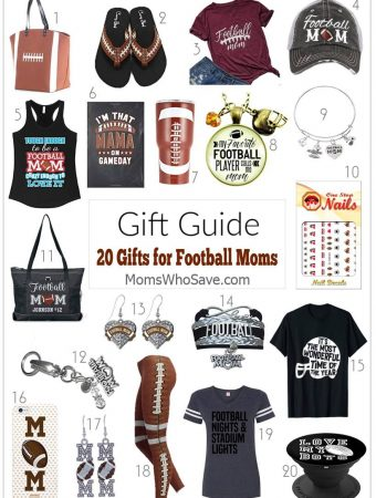 gift guide for football moms