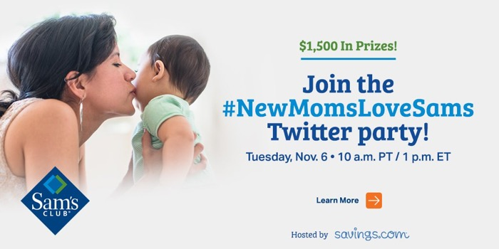Sam's Club Twitter party