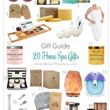 Gift Guide — 20 Home Spa Gifts