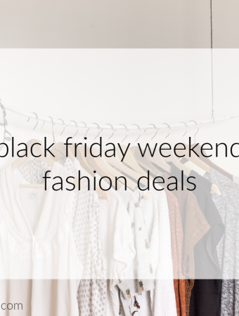Black Friday fashion deals