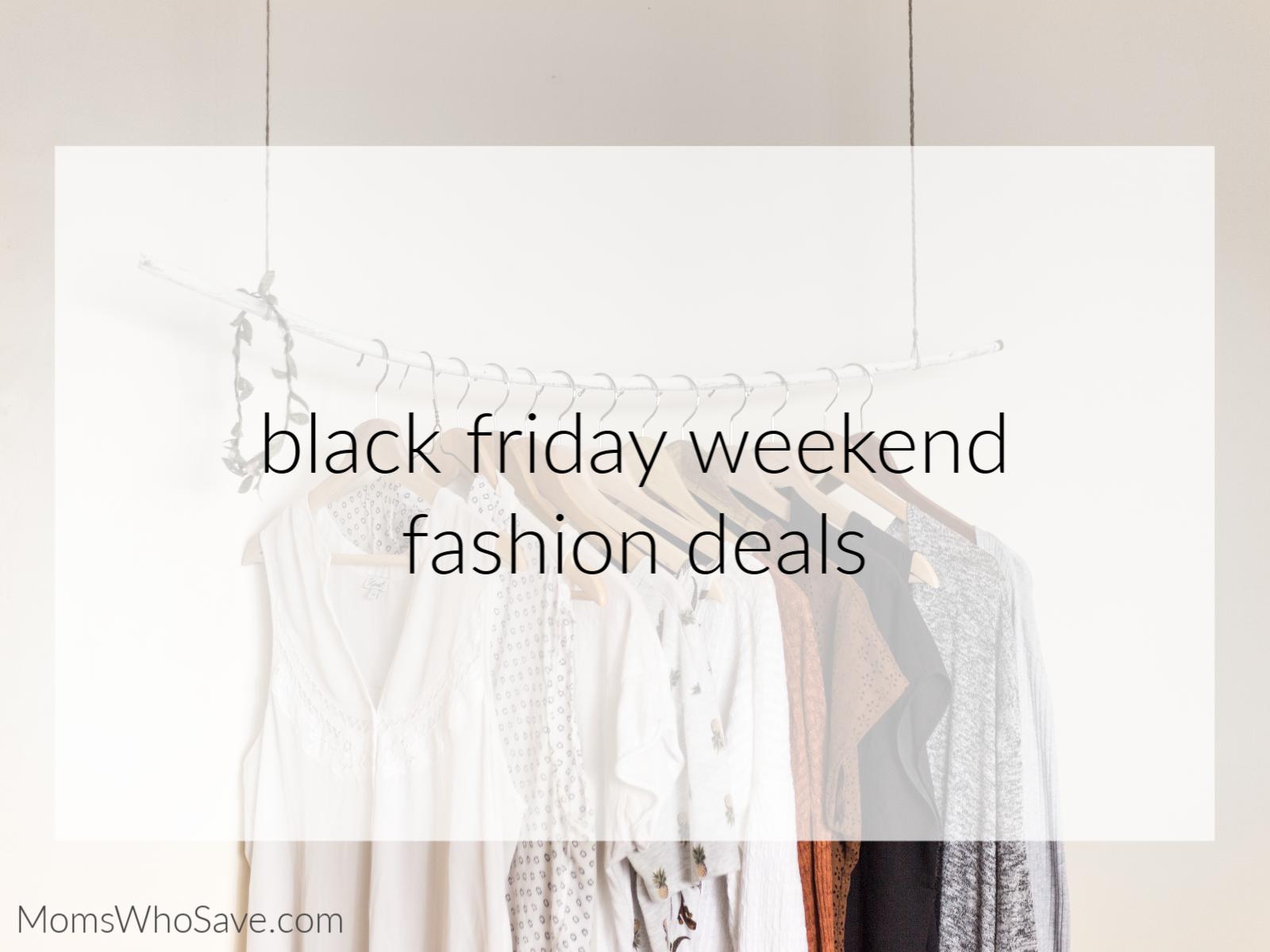 Black Friday fashion deals