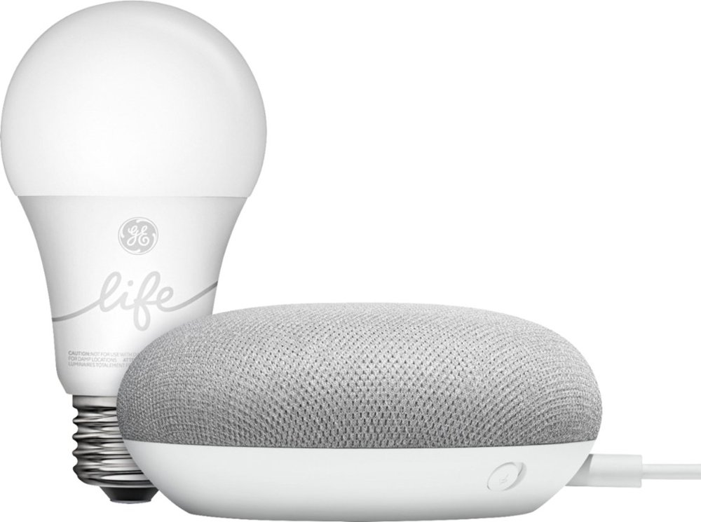 google home mini and smart light