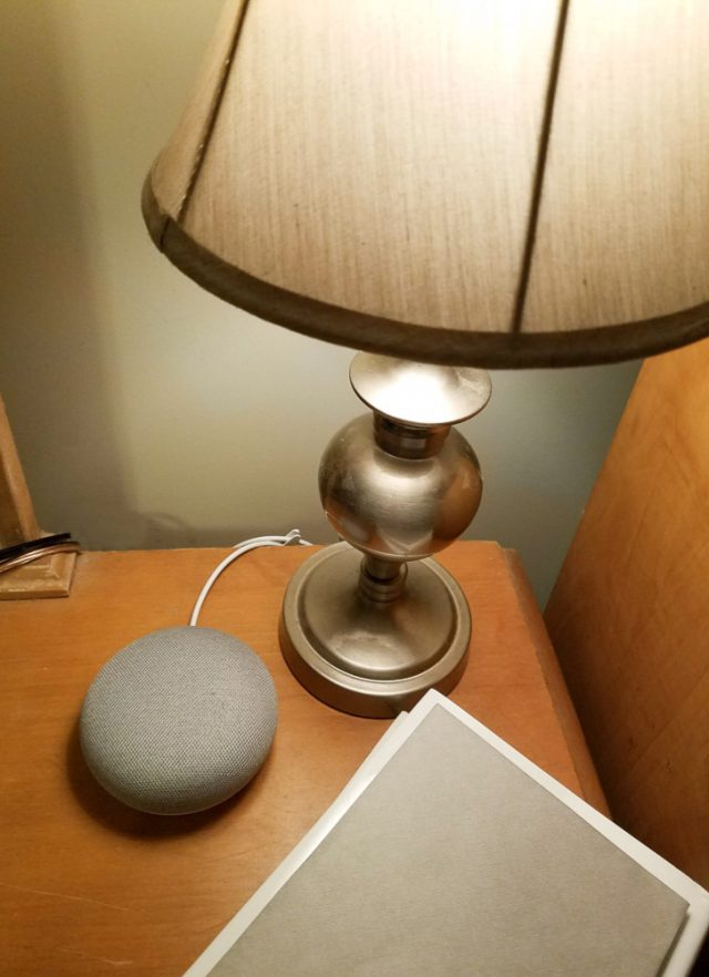 Google Home mini light kit