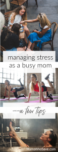 managing stress when you're a mom