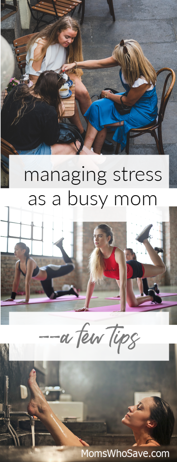 Stress relief for busy moms