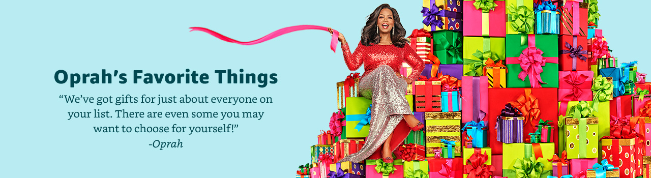 oprah's favorite gifts