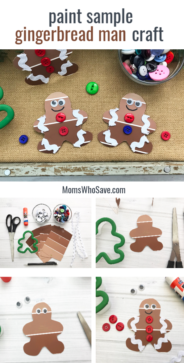gingerbread man kids craft