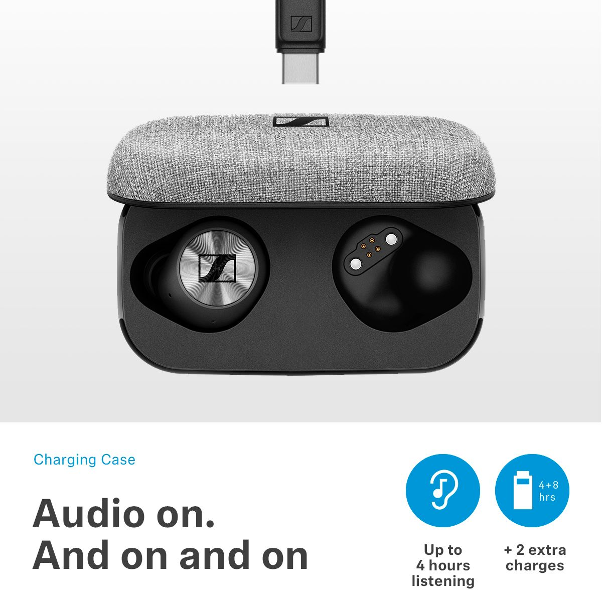 Sennheiser MOMENTUM True Wireless Earbud Headphones at Best Buy
