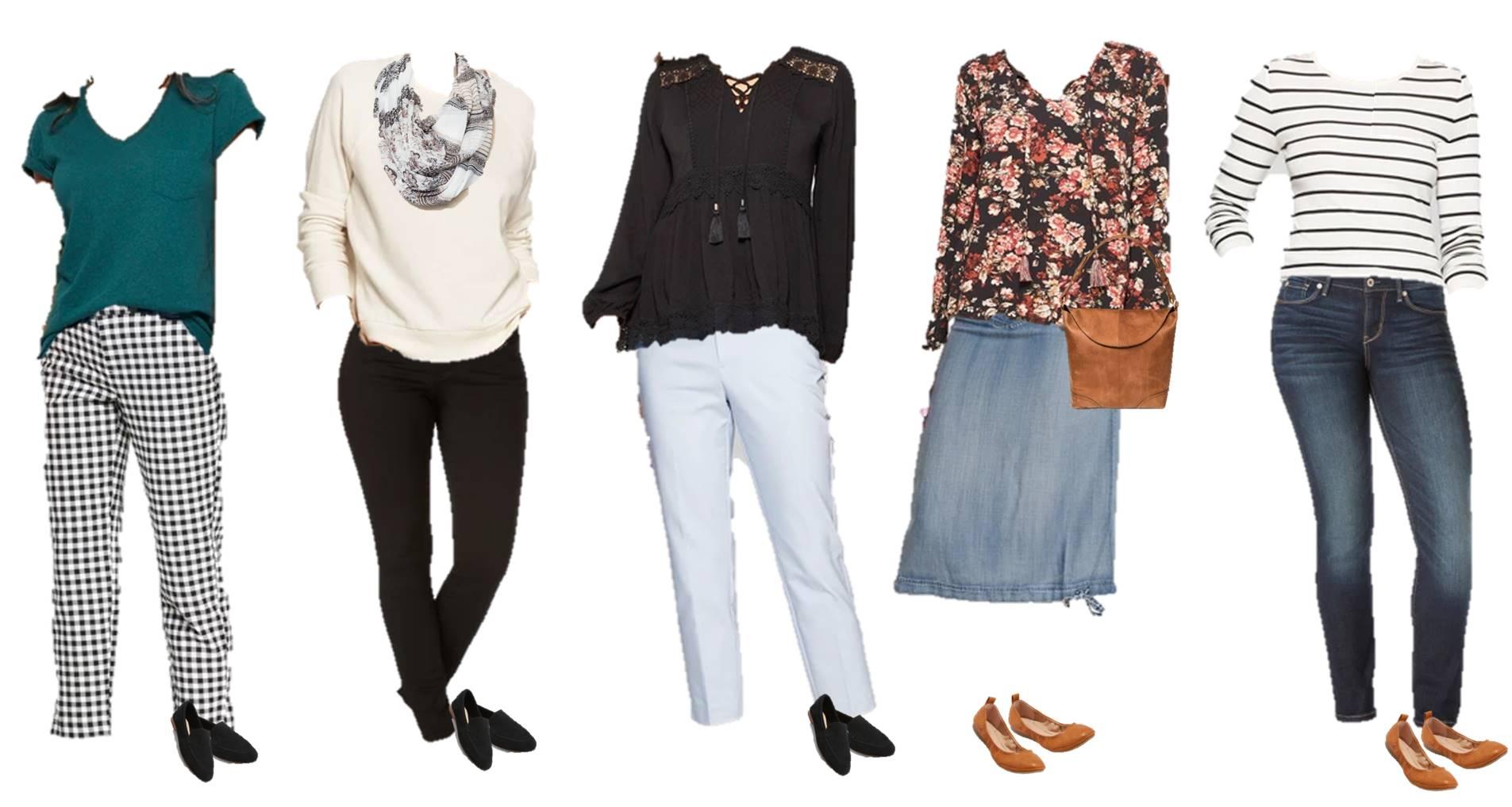 spring wardrobe from Target