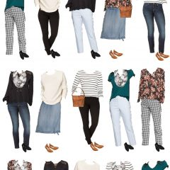 Mix & Match Fashion — An Affordable Spring Capsule Wardrobe