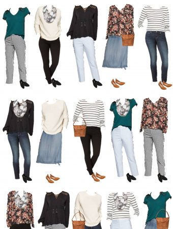 Mix & Match Wardrobe for spring