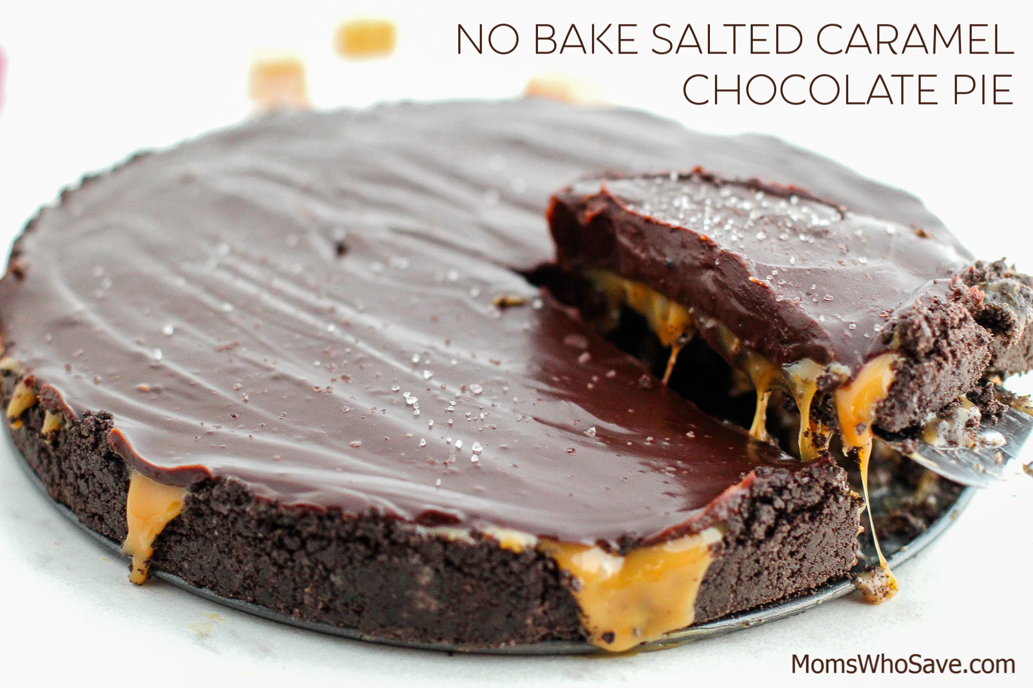 Salted Caramel Chocolate Pie recipe