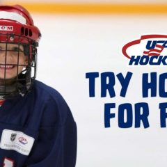 Kids Can Try Hockey for Free on February 23rd