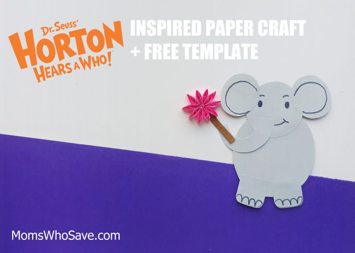 horton hears a who children's activity
