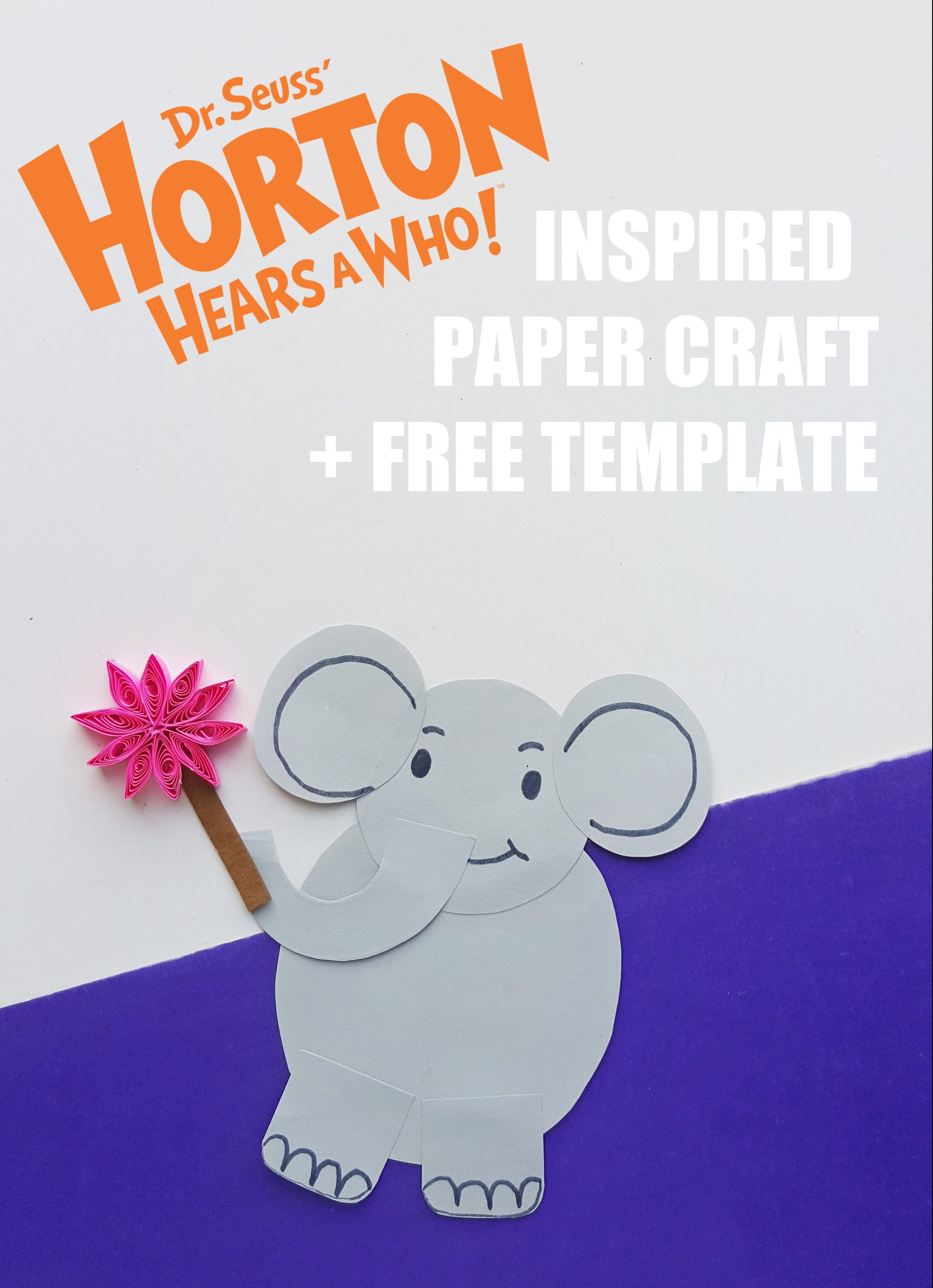 horton hears a who activity