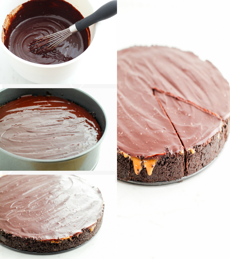 caramel chocolate pie no bake