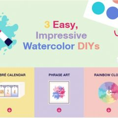 Decorate With These Watercolor DIY Projects
