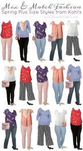 Mix & Match Plus Size wardrobe