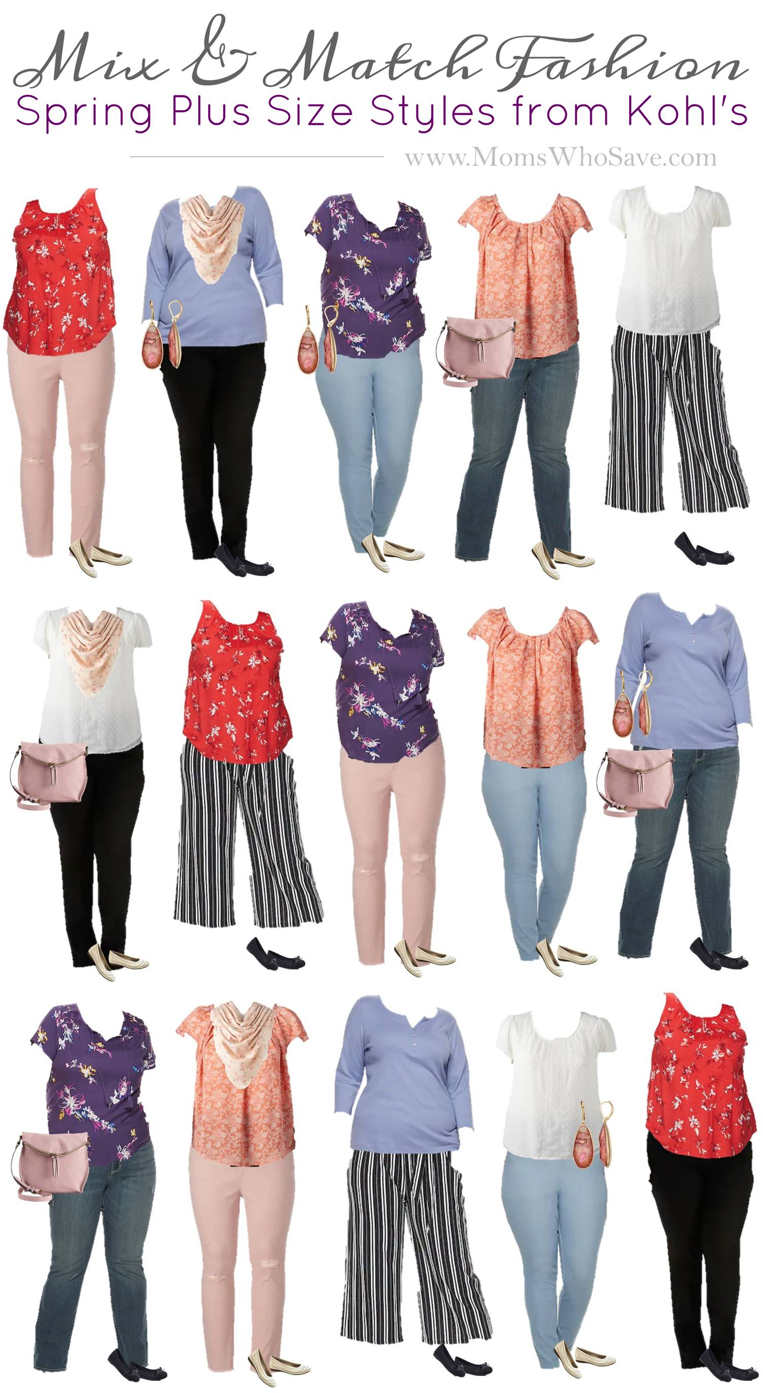 Mix & Match Plus Size wardrobe
