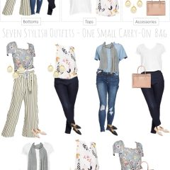 Packing Light for Spring and Summer Travel — 7 Outfits, 1 Carry-On Bag!