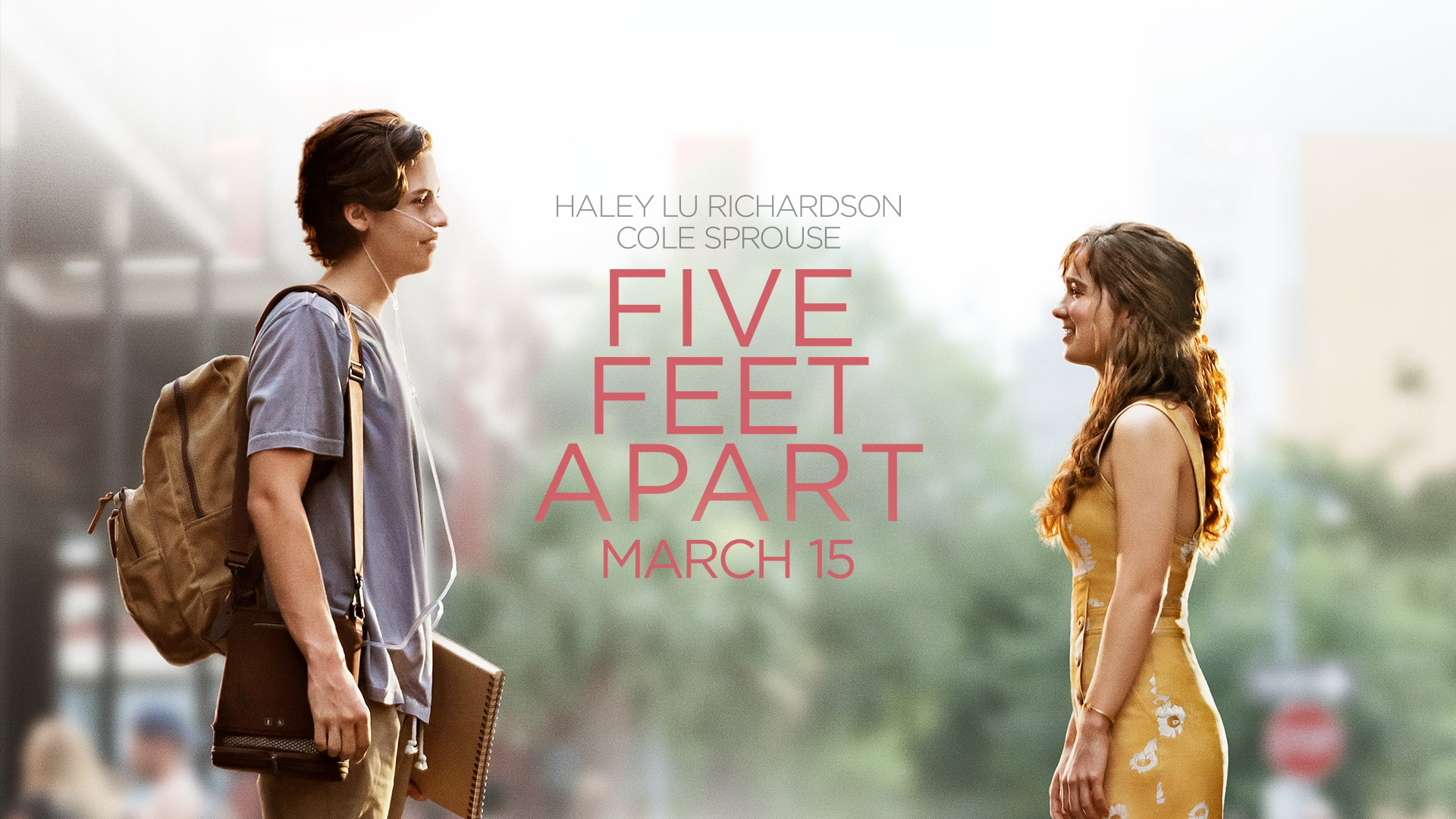 five feet apart  movie prize pack giveaway