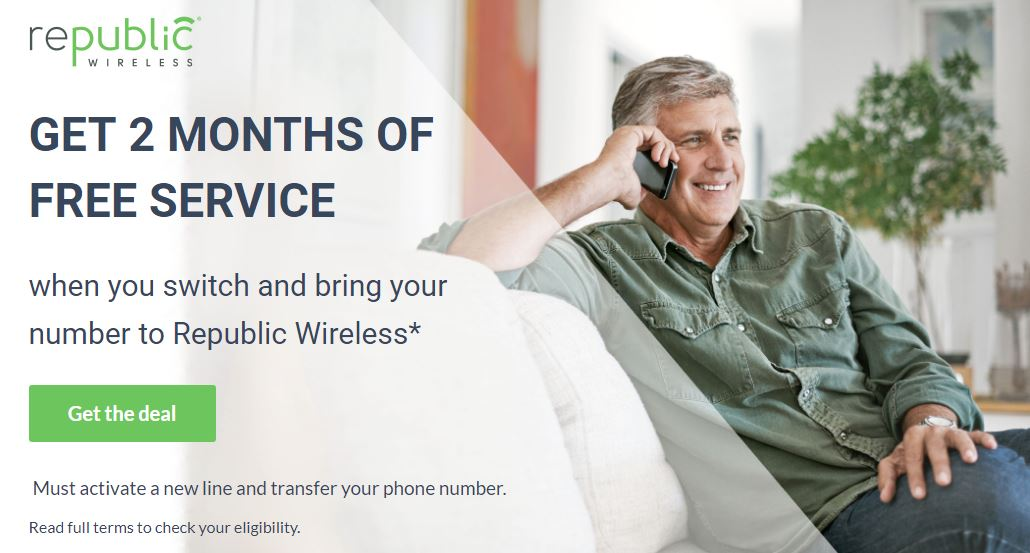 free service republic wireless