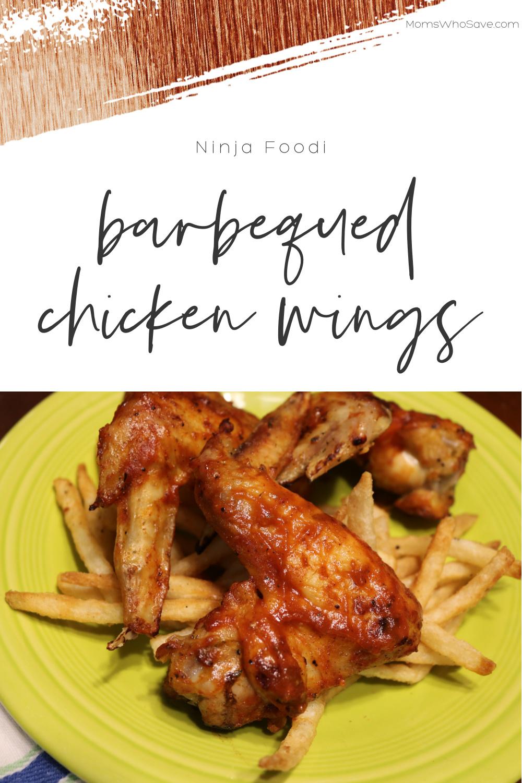 ninja foodi chicken wings