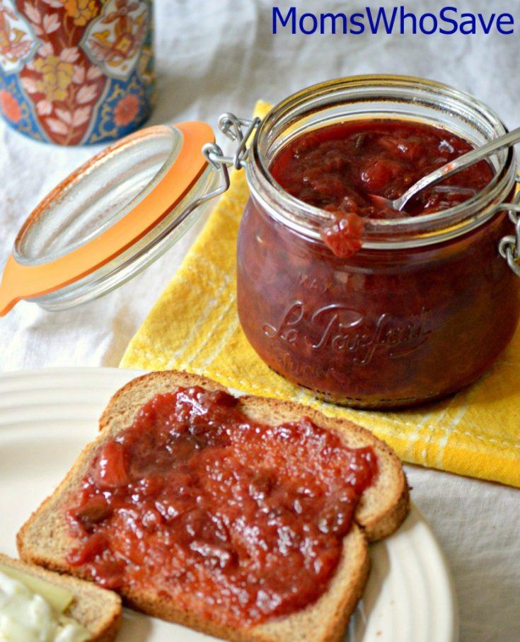 Homemade Plum Jam (Compote) Recipe | MomsWhoSave.com