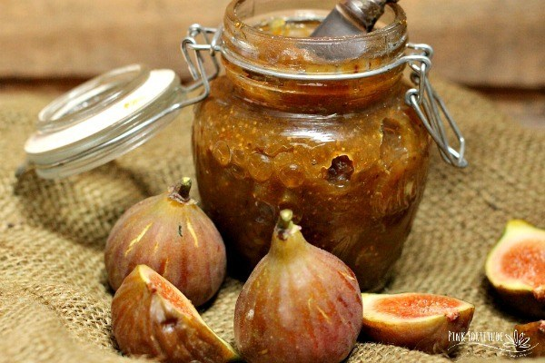 Seriously Delicious Homemade Fig Jam
