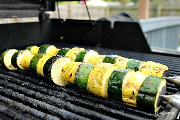 Zucchini and Squash Kabobs on the Grill – Paleo + Whole30 + Keto