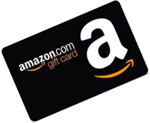 amazon-gift-card giveaway