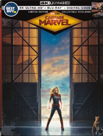 exclusive Captain Marvel collectible steelbook