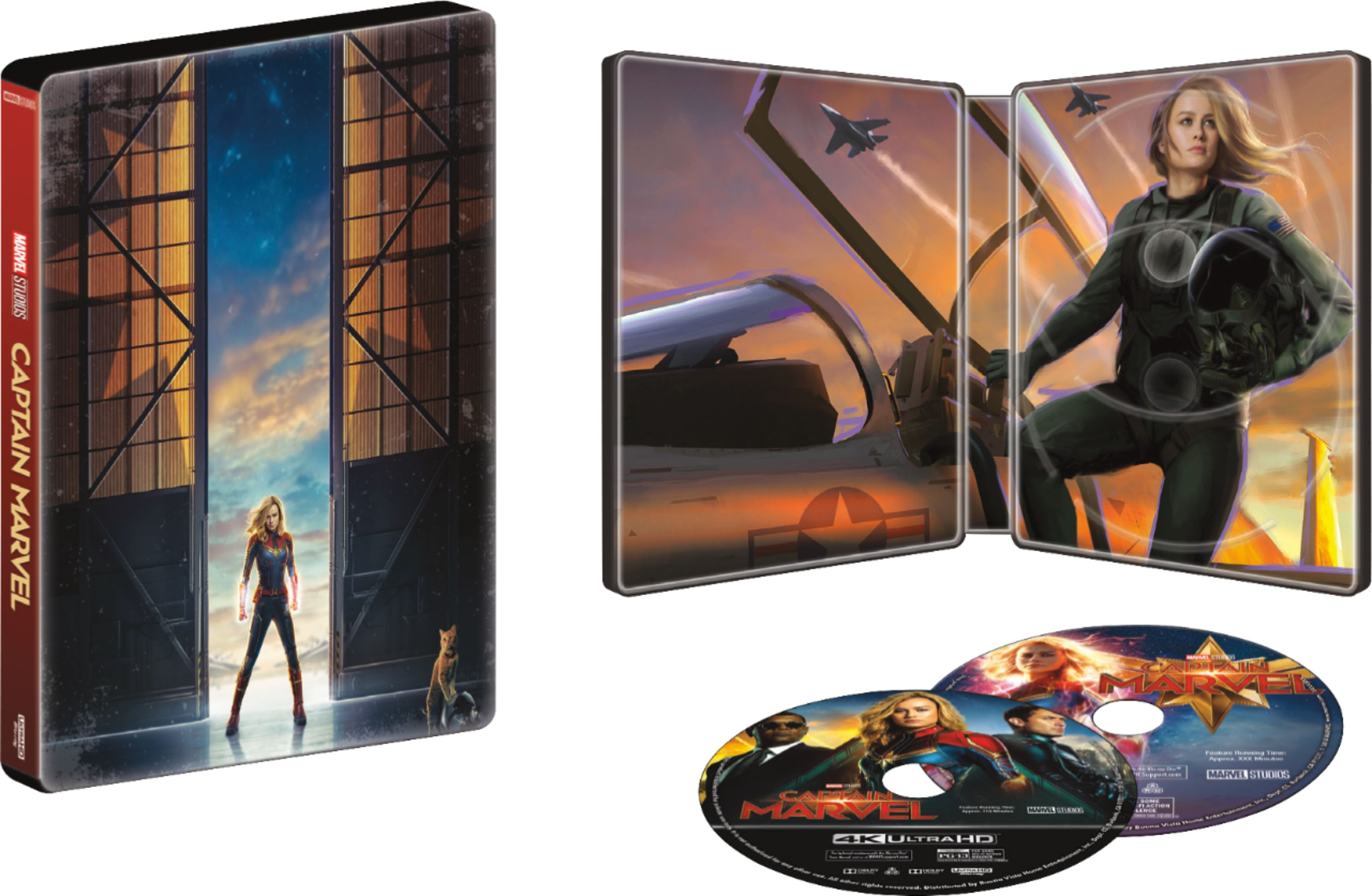Captain Marvel collectible blu-ray at Best Buy