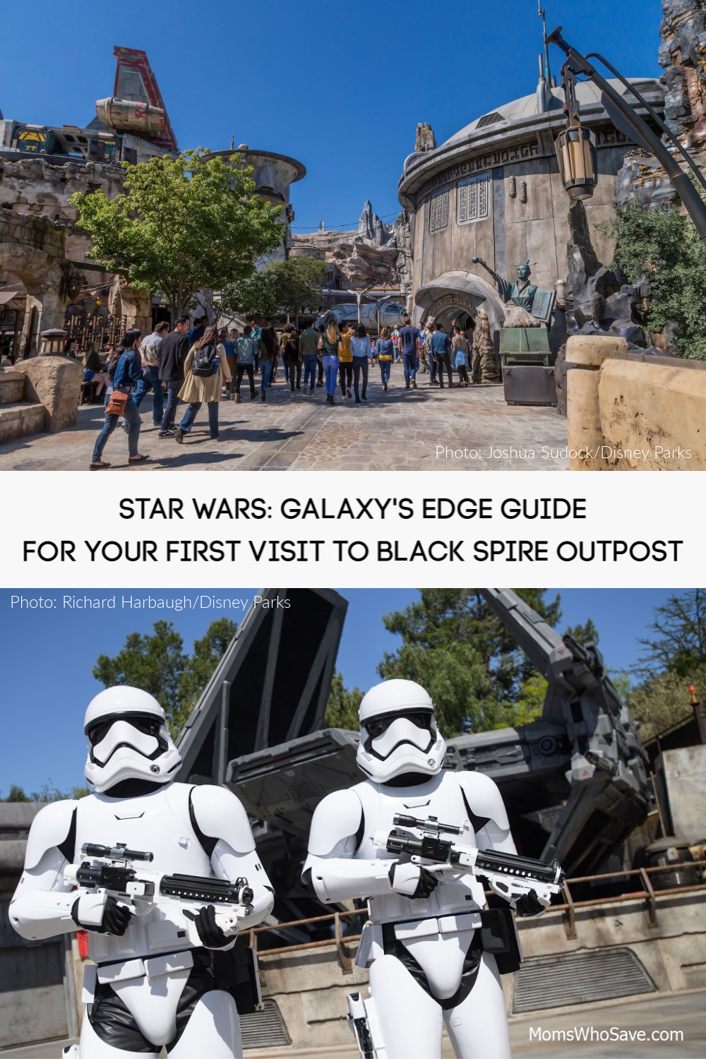 galaxy's edge for first time visitor