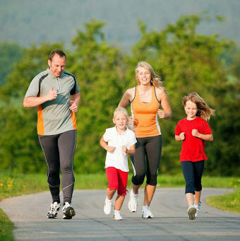 how to get healthy as a family