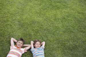 The Best Type of a Grass for Kids to Play On