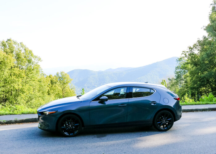 A Weekend Getaway to Asheville, North Carolina in the Mazda3