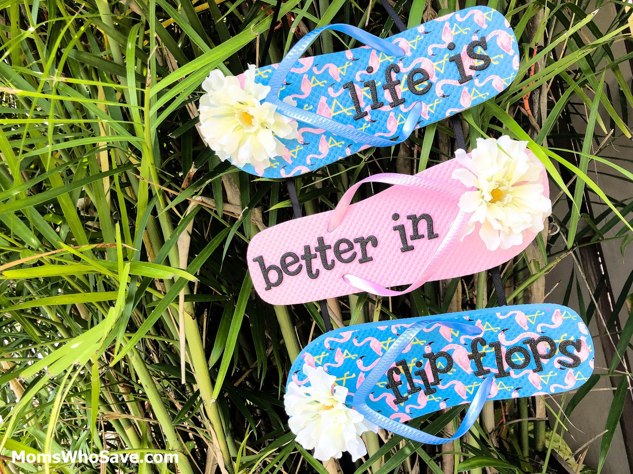 flip flop diy sign