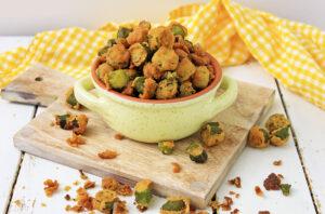 best southern fried okra recipe